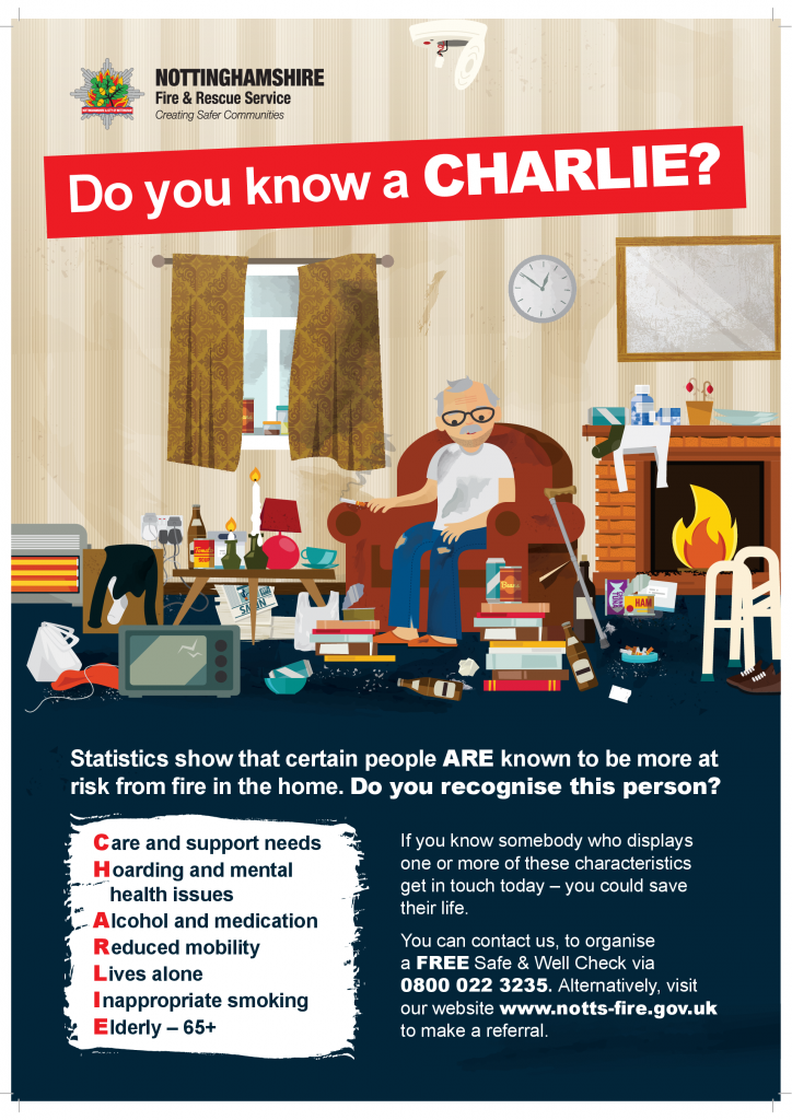 Do you know a CHARLIE?
