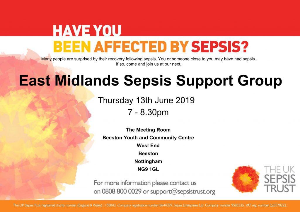 East Midlands Sepsis Support Group