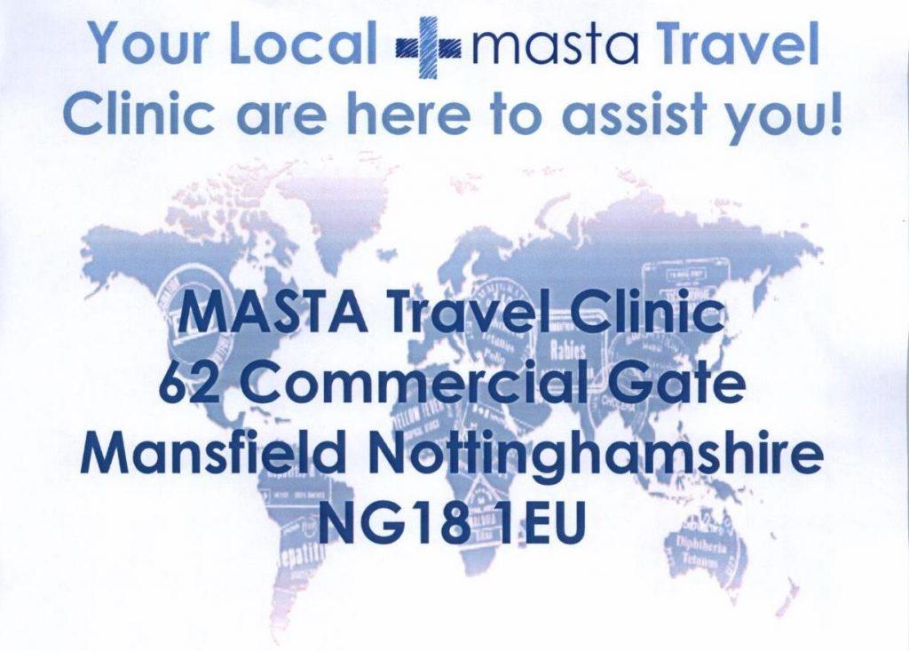 Your Local Masta Travel Clinic